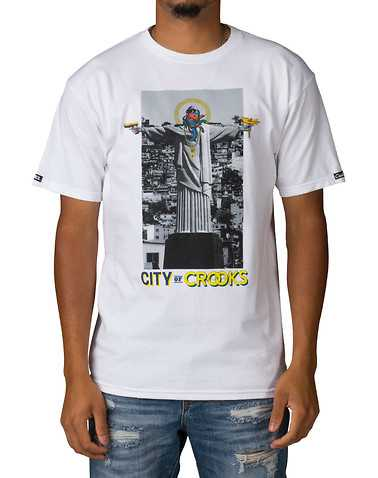 CROOKS AND CASTLES MENS White Clothing / Tops L