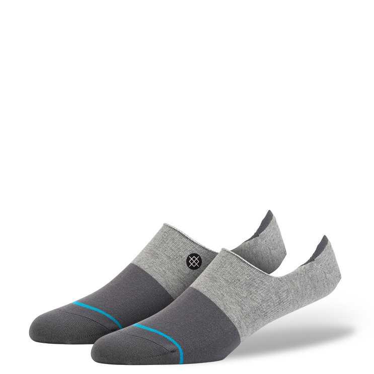 Stance Spectrum Super (Grey) super invisible Socks