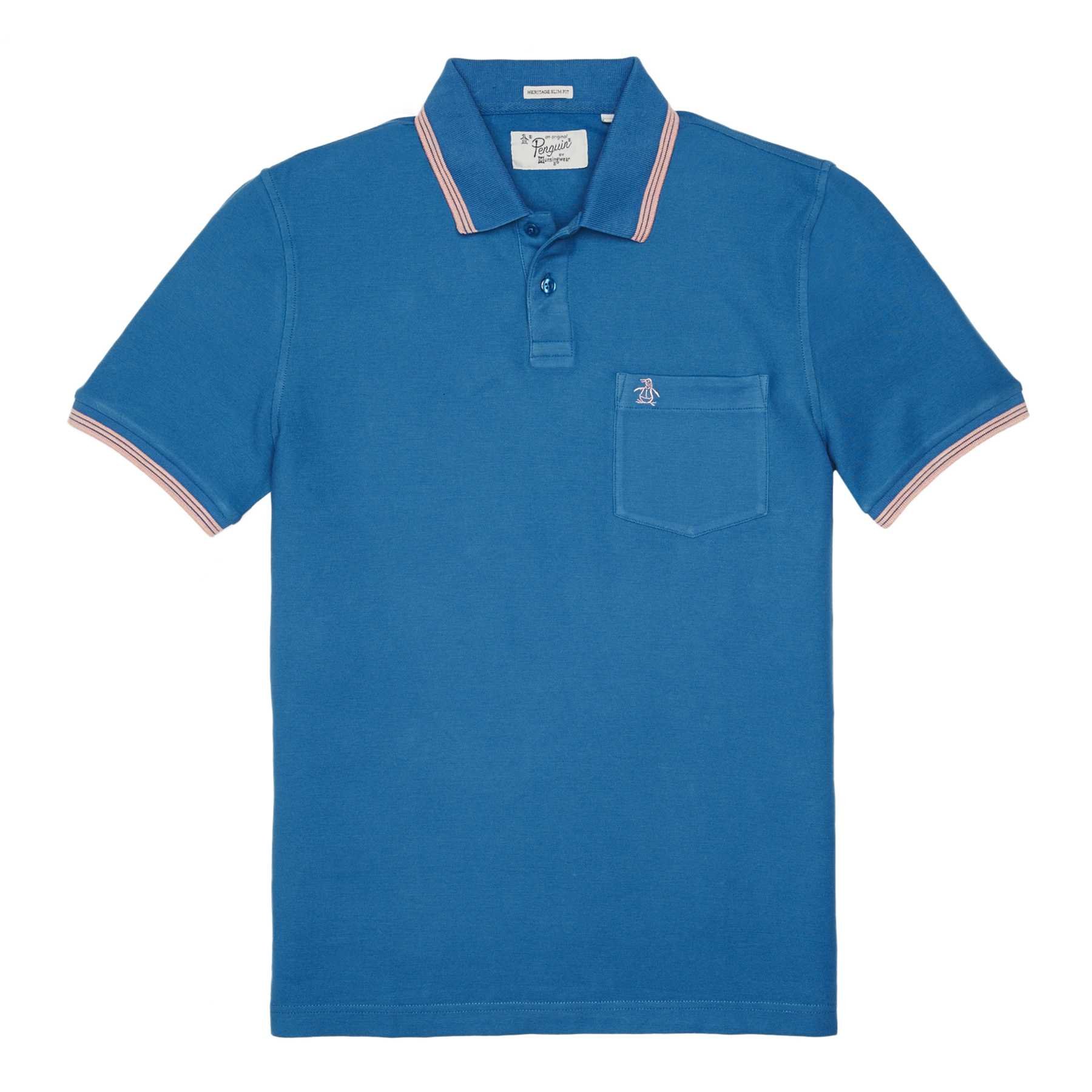 Original Penguin GARMENT DYE PIQUE POLO