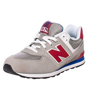 NEW BALANCE BOYS Grey Footwear / Sneakers 6.5