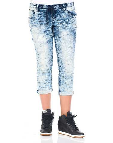 ESSENTIALS WOMENS Blue Clothing / Jeans M