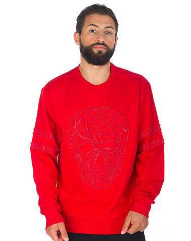 DECIBEL MENS Red Clothing / Sweatshirts XL