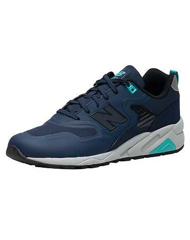 NEW BALANCE MENS Navy Footwear / Sneakers