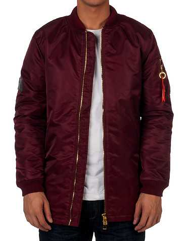 HUDSON OUTERWEAR MENS Burgundy Clothing / Outerwear L