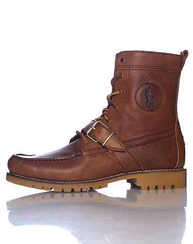POLO FOOTWEAR MENS Brown Footwear / Boots 8.5