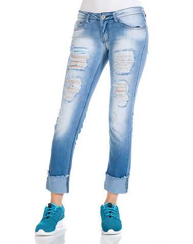 ESSENTIALS WOMENS Blue Clothing / Jeans