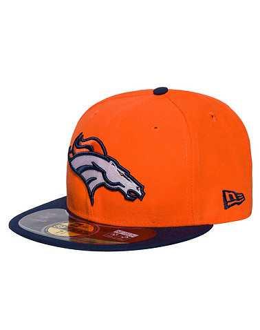 NEW ERA MENS Orange Accessories / Caps Fitted