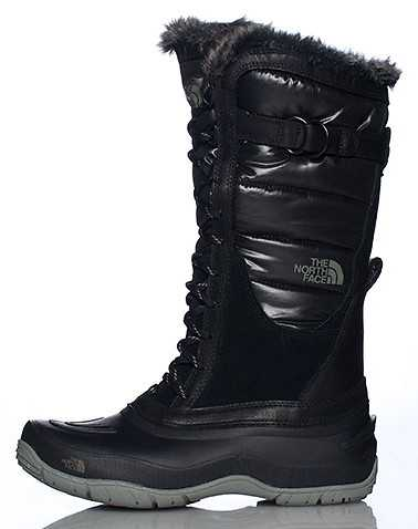 THE NORTH FACE WOMENS Black Footwear / Boots