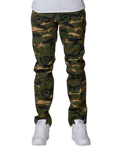 HUSTLE GANG MENS Green Clothing / Pants