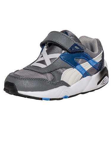 PUMA BOYS Grey Footwear / Sneakers