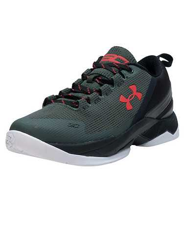 UNDER ARMOUR GIRLS Green Footwear / Sneakers