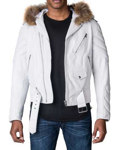 HUDSON OUTERWEAR MENS White Clothing / Outerwear L