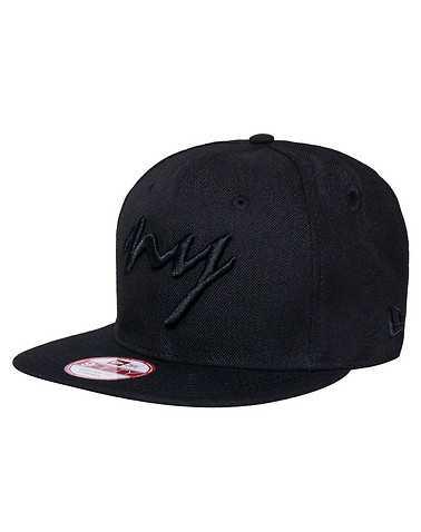 NEW ERA MENS Black Accessories / Caps Snapback One Size