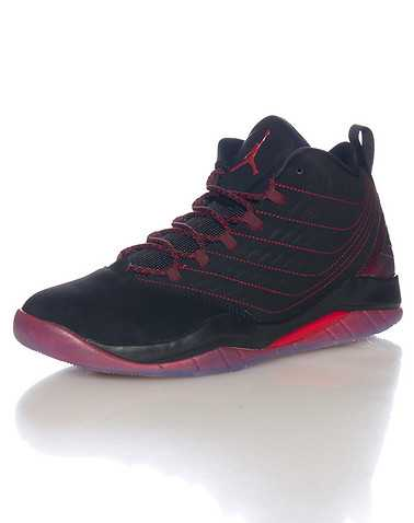 JORDAN MENS Black Footwear / Sneakers