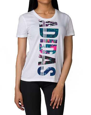adidas WOMENS White Clothing / Tops L