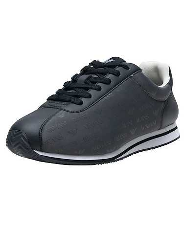 ARMANI JEANS MENS Dark Grey Footwear / Casual