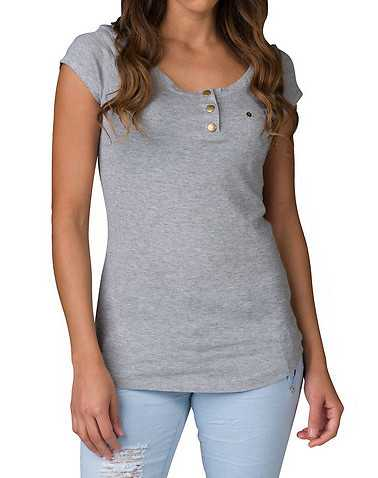 ESSENTIALS WOMENS Grey Clothing / Tops