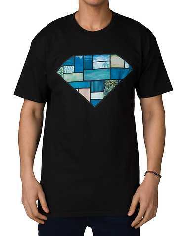 DIAMOND SUPPLY COMPANY MENS Black Clothing / Tops