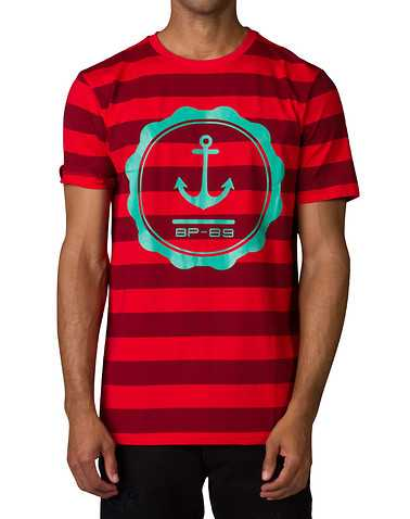 BLACK PYRAMID MENS Red Clothing / Tops