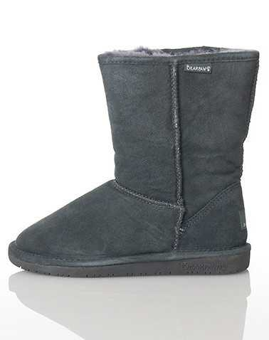BEARPAW WOMENS Grey Footwear / Boots 5