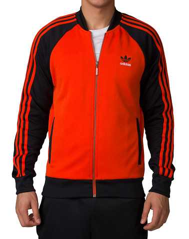 adidas MENS Orange Clothing / Outerwear M