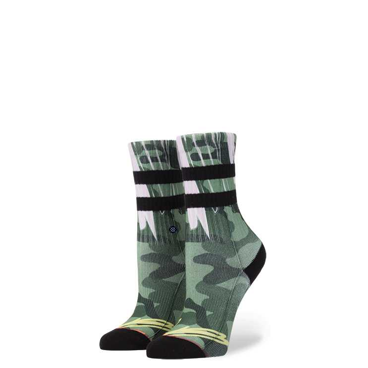 Stance Cant See Me Girls BLK L girls Socks