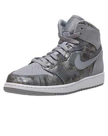 JORDAN BOYS Silver Footwear / Sneakers