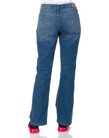 LEVIS WOMENS Blue Clothing / Jeans 3