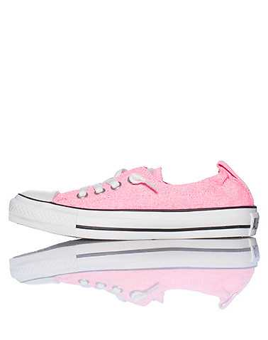 CONVERSE WOMENS Pink Footwear / Casual 5