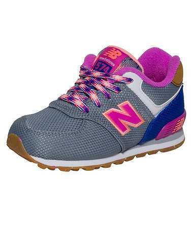NEW BALANCE BOYS Grey Footwear / Sneakers