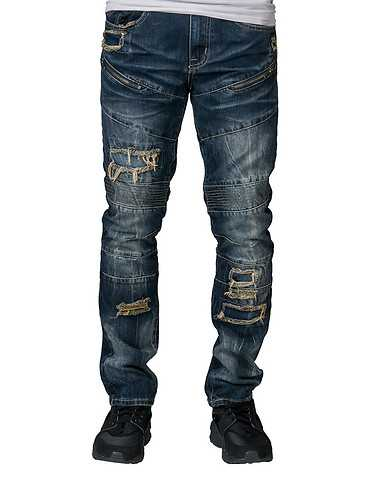 RESEARCH AND DEVELOPMENT MENS Dark Blue Clothing / Jeans