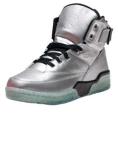 EWING ATHLETICS MENS Silver Footwear / Sneakers