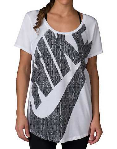 NIKE SPORTSWEAR WOMENS White Clothing / Tops S