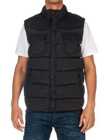 DECIBEL MENS Black Clothing / Outerwear