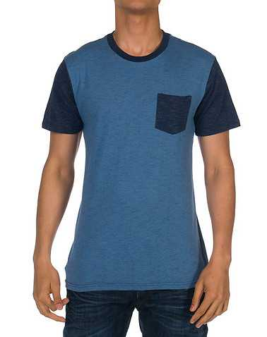 OCEAN CURRENTENS Blue Clothing / Tees and Polos