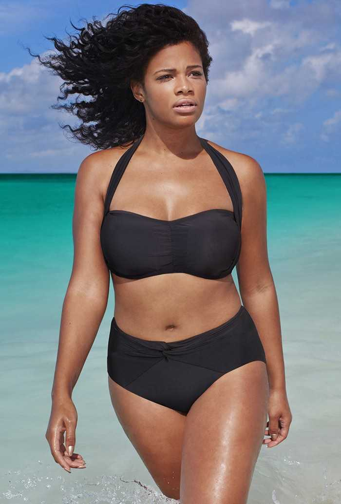 The Bombshell Black Bikini