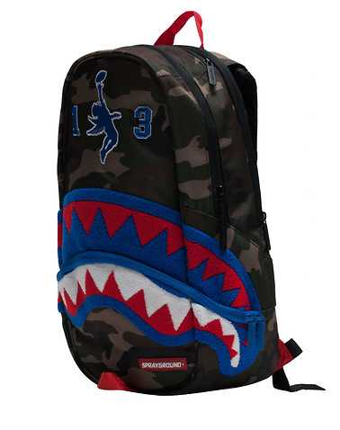 SPRAYGROUND MENS Dark Green Accessories / Backpacks and Bags ONES