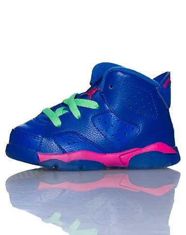 JORDAN GIRLS Blue Footwear / Sneakers 4C