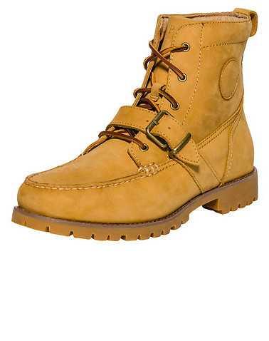 POLO FOOTWEAR MENS Beige-Khaki Footwear / Boots 8
