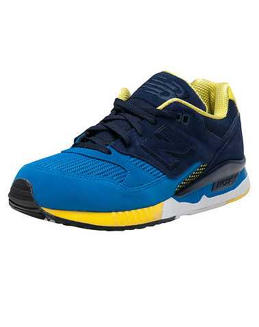 NEW BALANCE MENS Blue Footwear / Sneakers