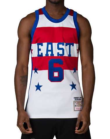 MITCHELL AND NESS MENS White Clothing / Tank Tops S