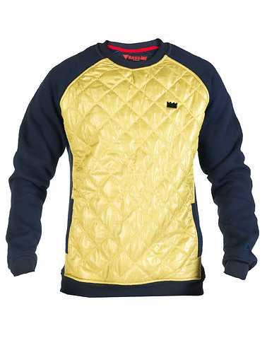 BASS BY RON BASS MENS Gold Clothing / Sweatshirts XXL