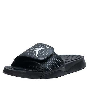 JORDAN MENS Black Footwear / Sandals