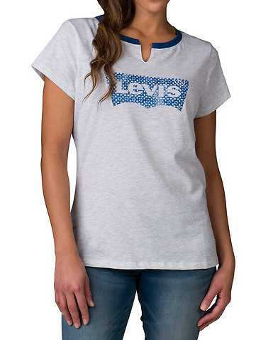 LEVIS WOMENS White Clothing / Tops