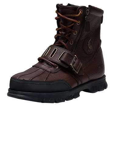 POLO FOOTWEAR MENS Dark Brown Footwear / Boots 12