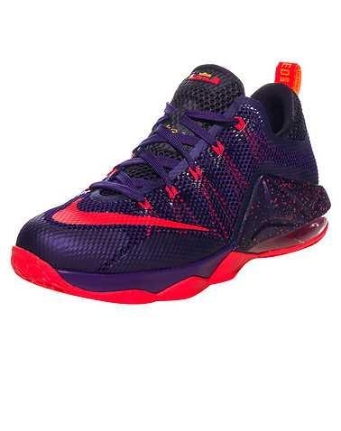 NIKE GIRLS Purple Footwear / Basketball 4.5Y