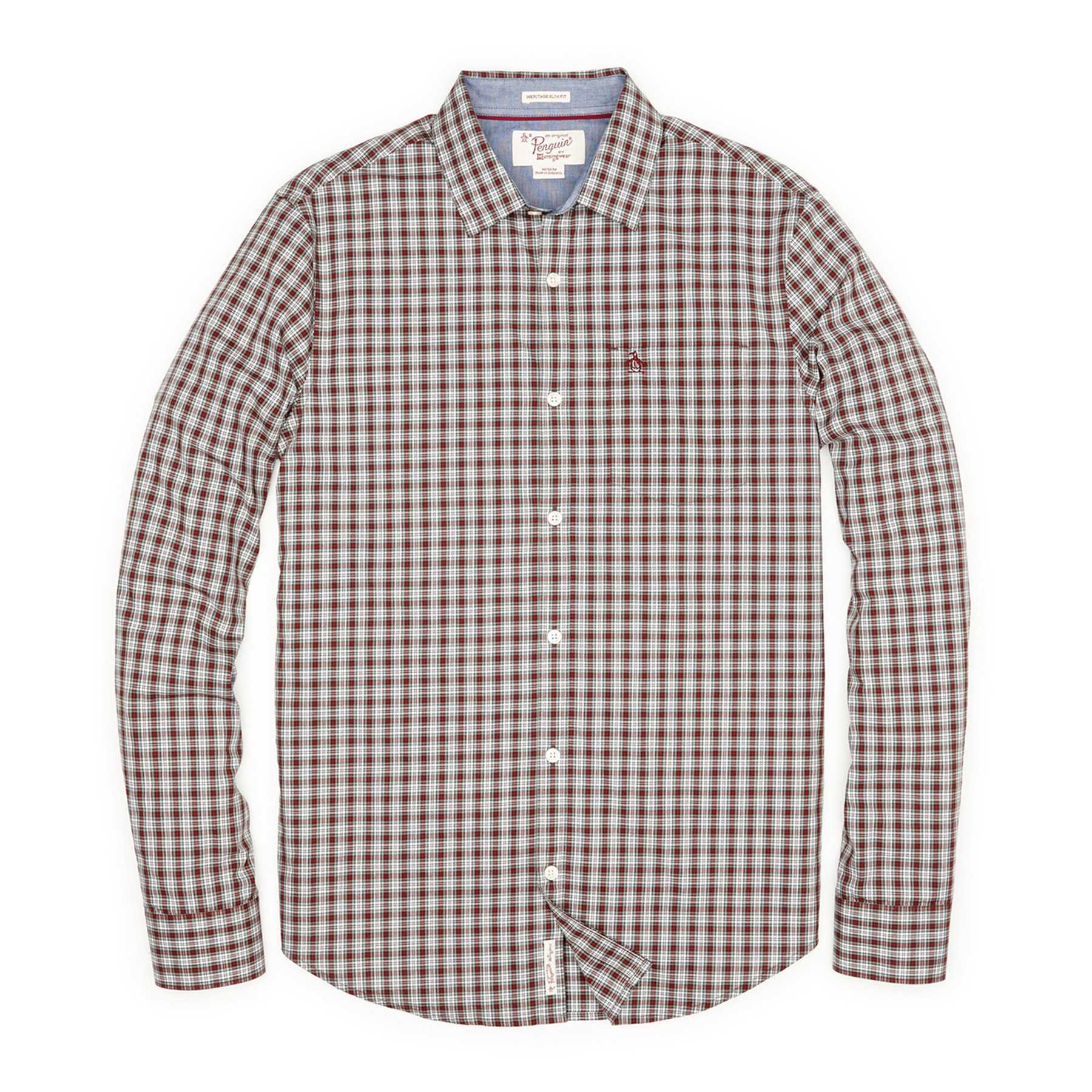 Original Penguin SMALL CHECK SHIRT