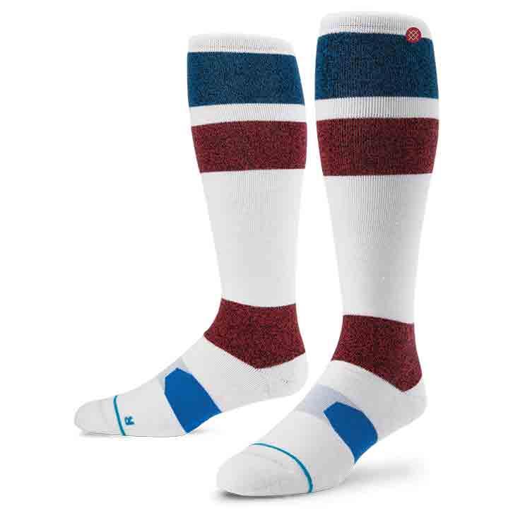 Stance Johnson WHT S/M FUSION SNOW Socks