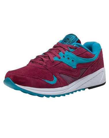 SAUCONY MENS Medium Red Footwear / Sneakers