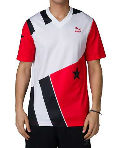 PUMA MENS Red Clothing / Tops S